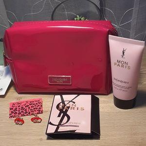Yves Saint Laurent Cosmetic Bag Bundle
